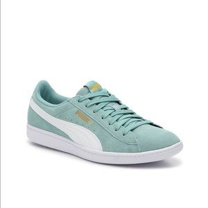 Puma Vikky Women's Sneakers Size 8 in Mint Green